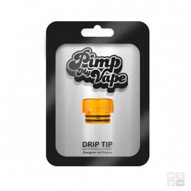 DRIP TIP 810 SHORT PET TRANSPARENT PIMP MY VAPE