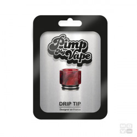 DRIP TIP 810 RESIN SS PIMP MY VAPE