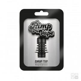 DRIP TIP 510 STEEL BLACK PIMP MY VAPE