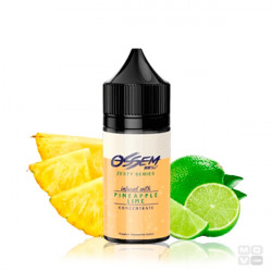 ZESTY SERIES OSSEM LIQUIDS PINEAPPLE LIME CONCENTRATE 30ML